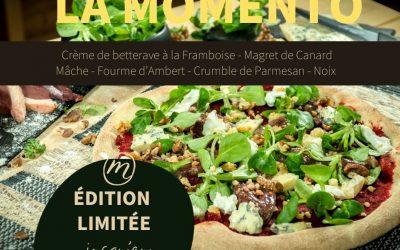 Pizza du mois (avril) – La Momento