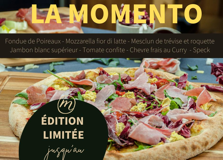Pizza du mois (mars) – La Momento
