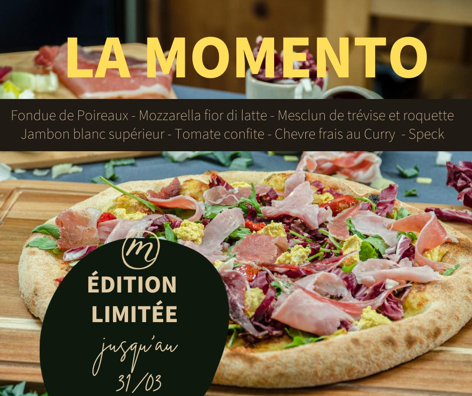 Pizza du mois – La Momento