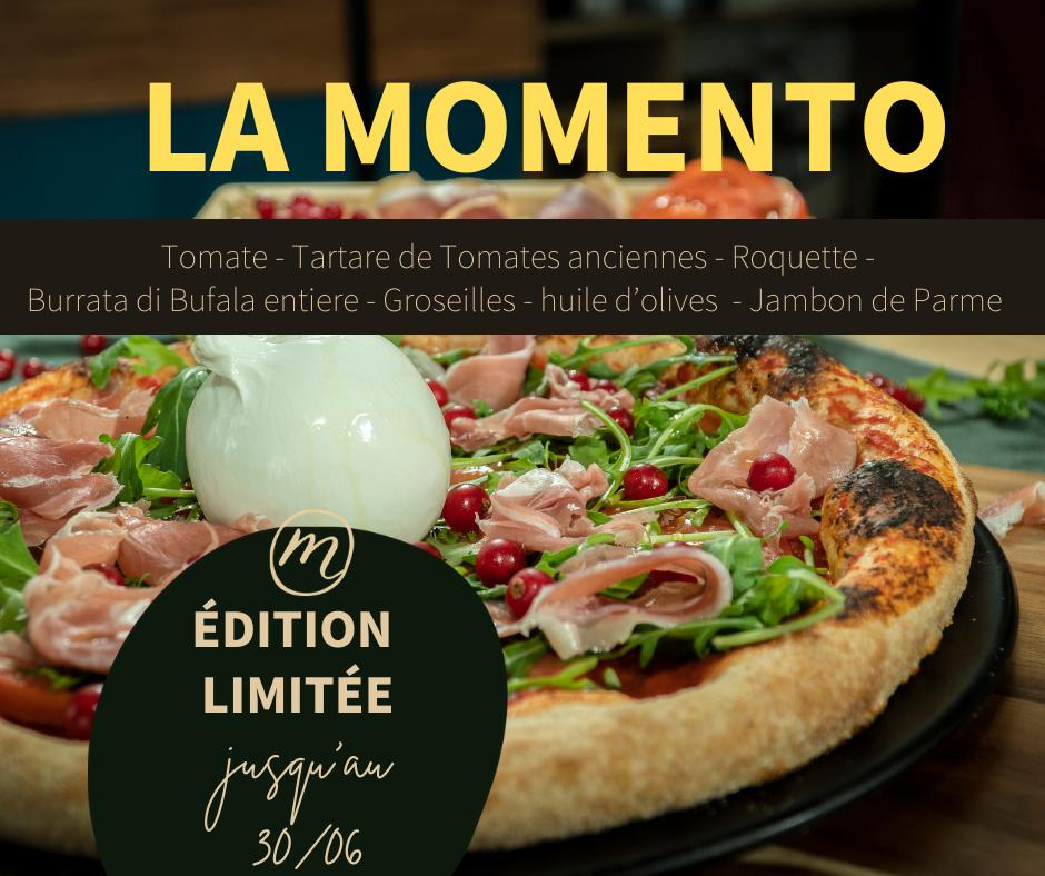 Pizza du mois (juin) – La Momento